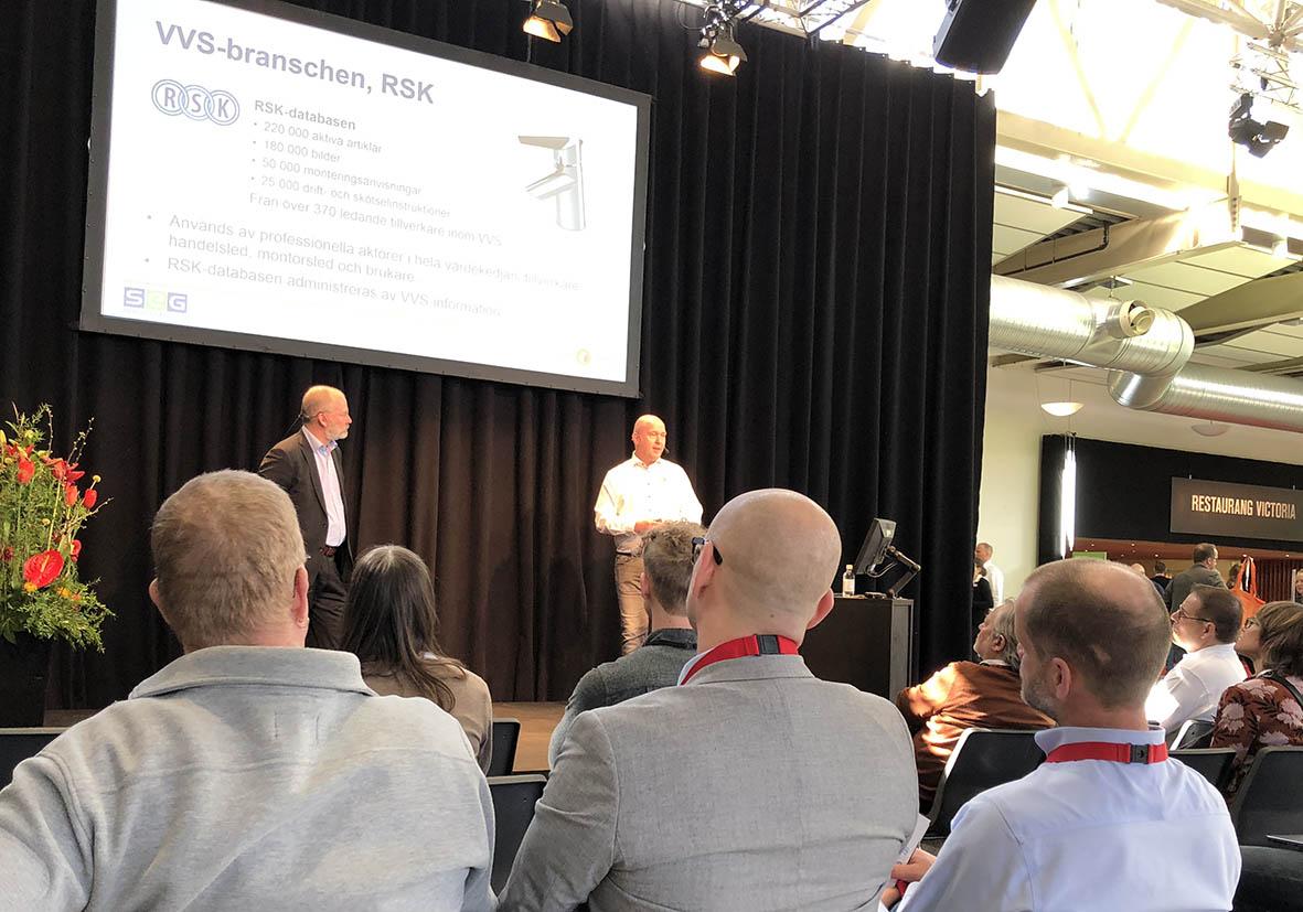 Lyckat seminarie på Nordbygg 2018